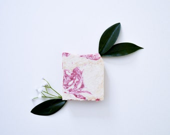 Blossom Sea Salt  Bar - Vegan Soap, Hot Process Soap, All Natural Soap, Organic Soap, Cruelty-Free Soap, Handmade Soap, Homemade Soap,