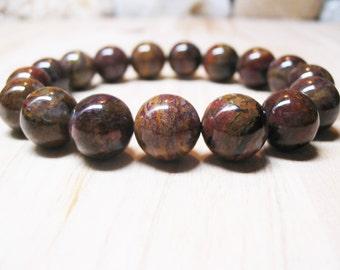 Pietersite Bracelet Power Bracelet Energy Bracelet Healing Bracelet Protection Bracelet Spiritual Bracelet Root Chakra Bracelet