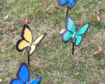 Ornamental Steel Garden Butterfly