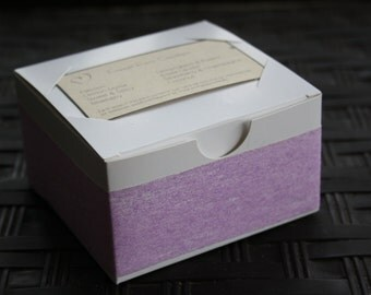 Lilac Soap Gift Box