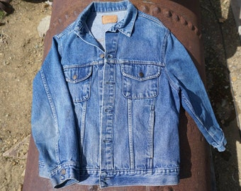Vintage Pioneer Denim Jacket Ladies Large
