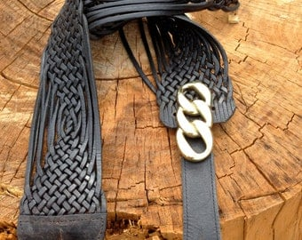 Hand made one-off guitar strap