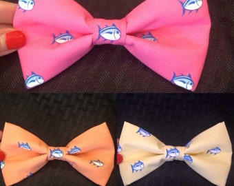 Southern Tide clip on Bow Tie or Hair Bow
