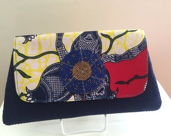 African Clutch - African Print Material