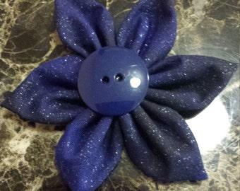 Dark blue and black sparkly headband