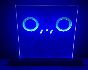 Patch Gaming Dino Face LED Sign