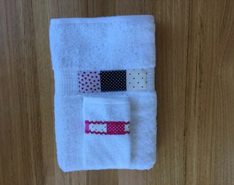 Spotty Fabric Band