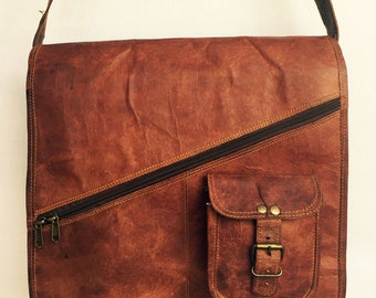 Leather Satchel // Leather Bag