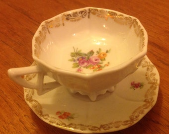 Vintage St Kilian German miniature cup and saucer