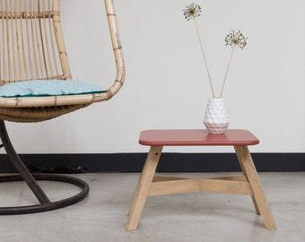 Side table / small stool oak