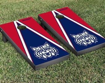 Arizona Wildcats Cornhole Game Set Triangle Designs