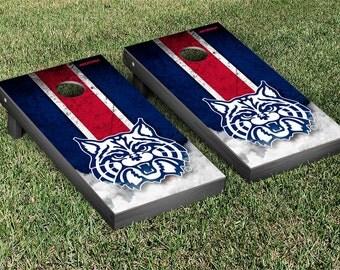 Arizona Wildcats Cornhole Game Set Wildcat Stripe Designs