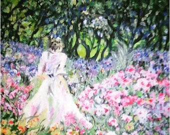 Oil Painting ,,Magical day,,
