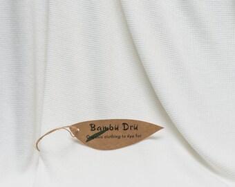 Organic Cotton & Bamboo - 240g/m2 Thermal (2m)