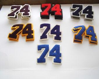 Letterman's Jacket Numbers - Number 74