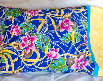 Pink Tropical Pillow Cases