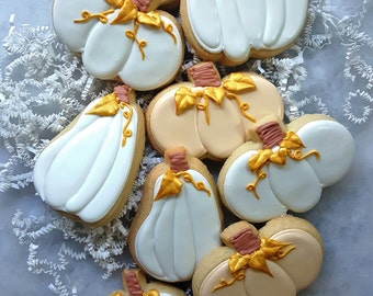 Lumina Pumpkin Sugar Cookies