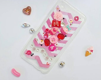 iPhone 6/6s  Case | Kawaii | Decoden | Pink