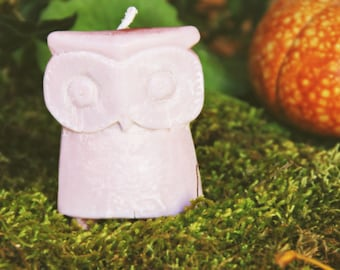 Medieval Owl Candle