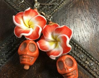 SKULL Earrings | Day of the Dead Earrings | Dia de los Muertos Jewelry | Dia de los Muertos Earrings | Halloween Earrings