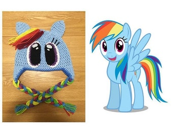 Rainbow Dash Beanie