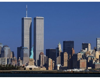 The Twin Towers New York Poster Print