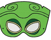 Mask Tiki 06 Embroidery Design Sizes (4*4-100*100)(5*7-130*180) PES,JEF,HUS... etc