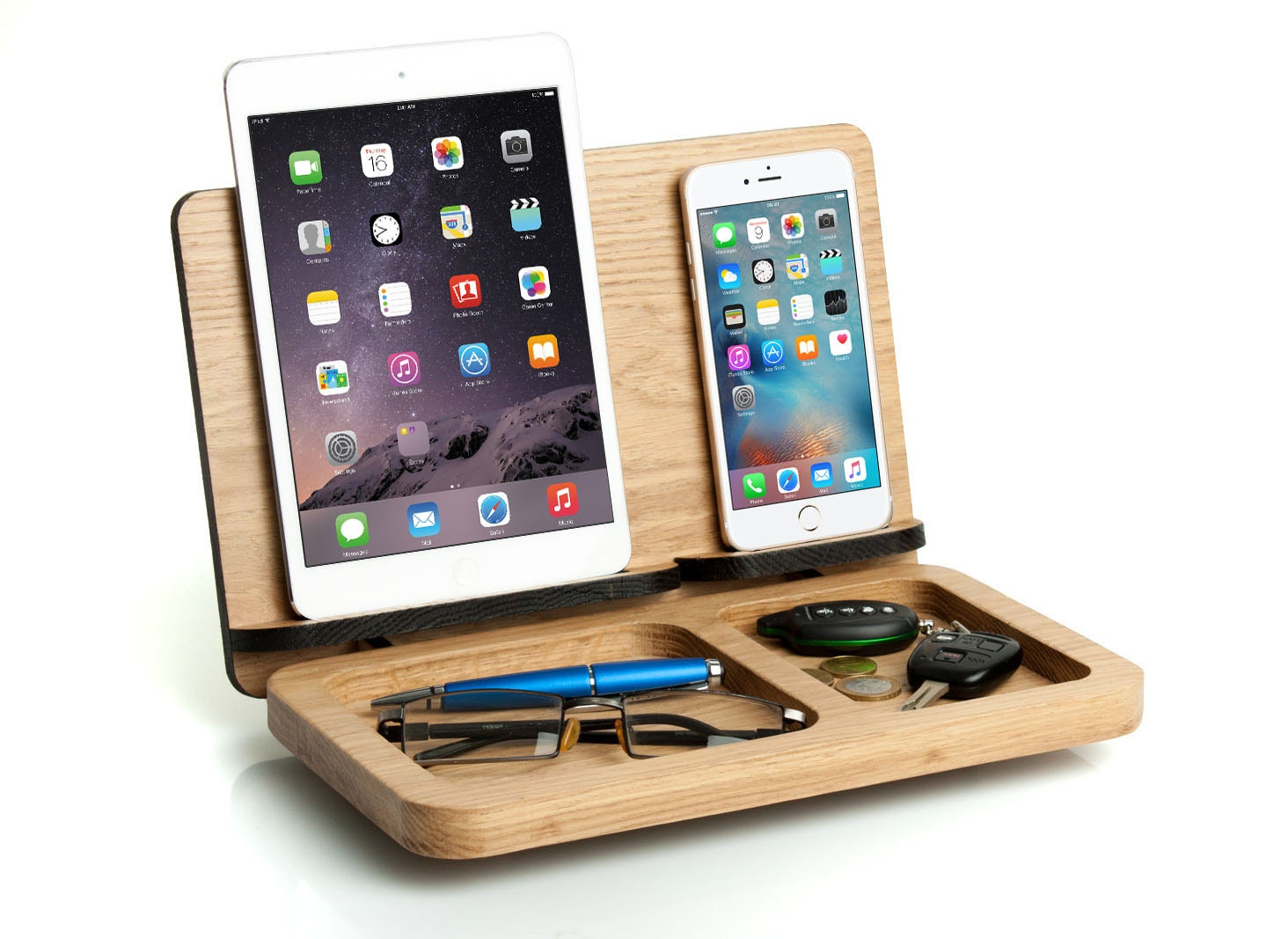 mens gift ipad mini iphone 7 docking station personalized. Black Bedroom Furniture Sets. Home Design Ideas
