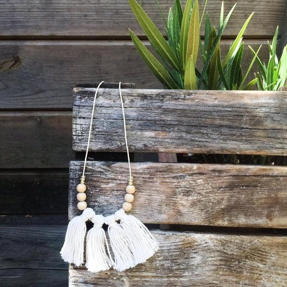 Necklace natural - Handmade - La Rochelle