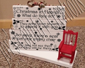 Christmas in Heaven 1, 2, 3, 4 (Bundle)  SVG revised