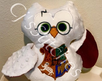 HP Stuffed owl~ shipping included