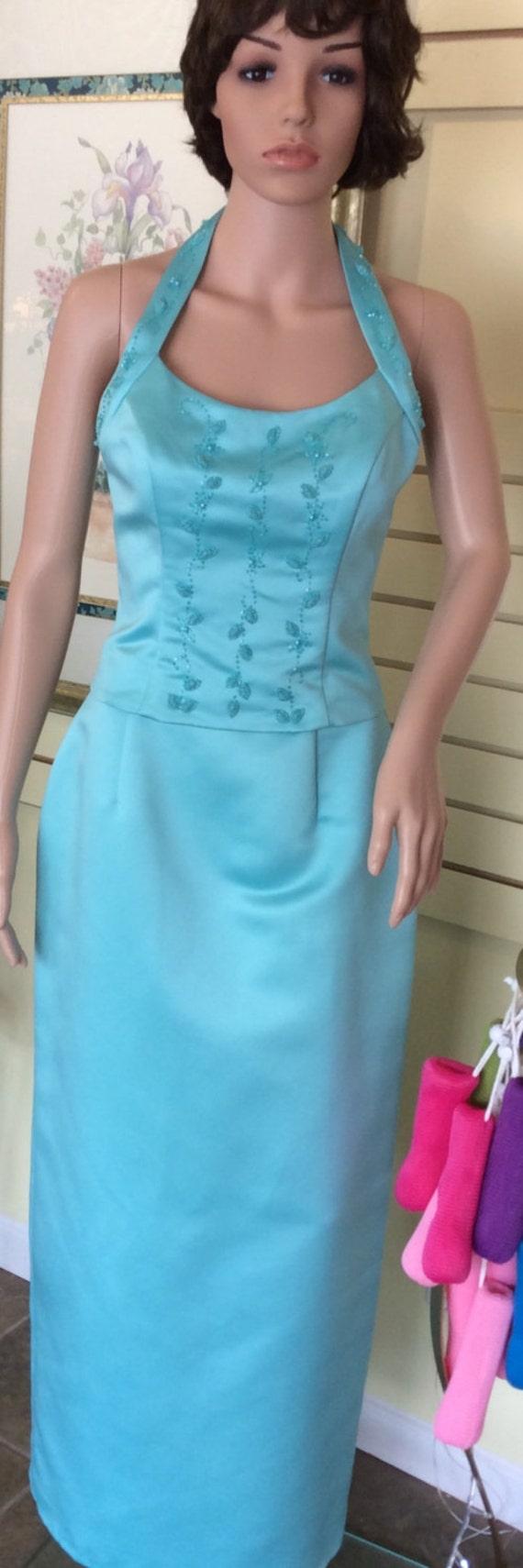 Pinky & Me Beaded Prom Dress Size 8 Bridesmaid Dress Evening