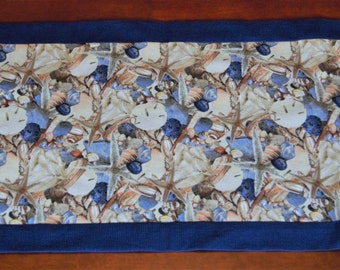SOLD ---  Seashell table runner (117)