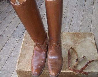 Vintage English Riding Boots O'Donnel Shoe Co 9