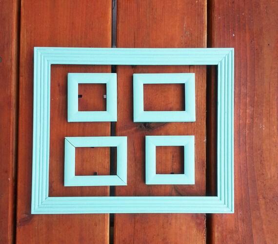 Home decor vintage wooden frames set of 5 frames for Bungalow style picture frames