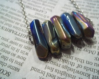 Metallic Beaded Necklace