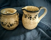 Sugar Bowl & Creamer Set