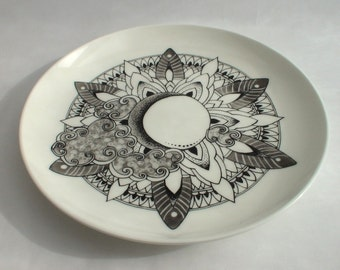 Small plate with Mandala