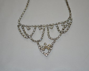 Princes Rhinestone Necklace