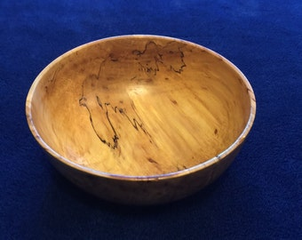 Spalted Maple Bowl #106