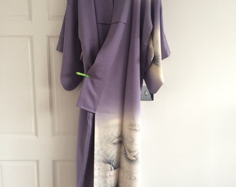 beautiful print kimono