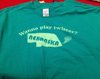 CLEARANCE: Nebraska shirt  - XL