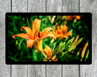 Flowers Photo, Orange Photo, Tiger Lilies Photo, Plants Photo, Nature Photo, Spring Flower Photo, Lily Photo, Wall Art, Printable Wall Decor