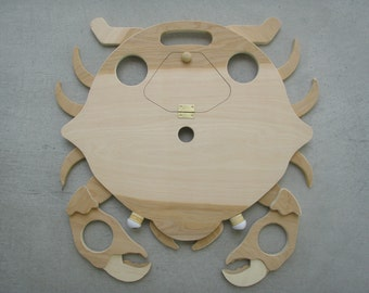 BEACH TABLE - CRAB - free shipping