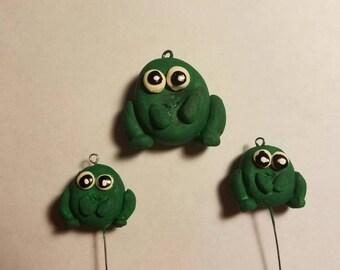 Friendly frogs