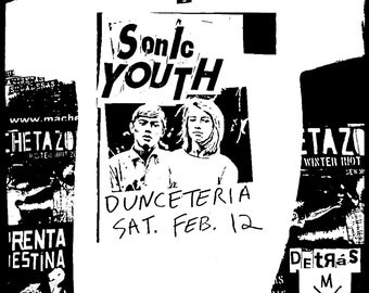 Sonic Youth Gig 2 T-Shirt