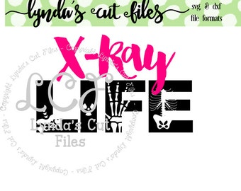 X-Ray Life Svg/EPS/DXF file