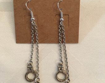 You got me in chains earrings