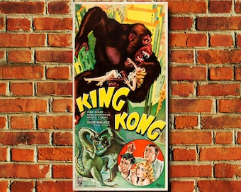"King Kong Movie Poster - 11"" x 17"" - #0128"