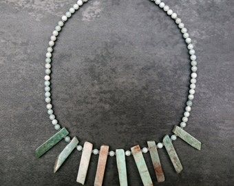 Amazonite Stone Necklace